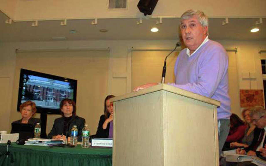 New Canaan resident Michael Nowacki announced his decision to withdraw his bid for First Selectman as a petitioning candidate. Photo: File Photo