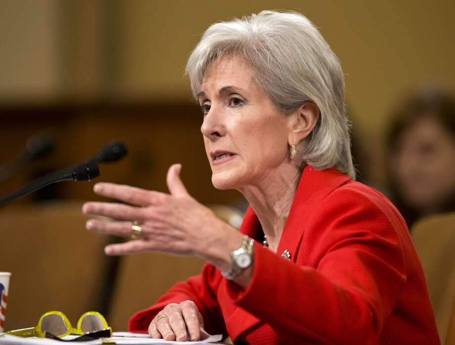 FILE - In this April 12, 2013 file photo, Health and Human Services (HHS) Secretary Kathleen Sebelius testifies on Capitol Hill in Washington before the House Ways and Means Committee hearing on President Barack Obama's budget proposal for fiscal year 2014, and the HHS.  Hospitals within the same city sometimes charge tens of thousands of dollars more for the same procedure, figures the government released for the first time Wednesday show. The list sheds light on the mystery of just how high a hospital bill might go and whether it's cheaper to get that care somewhere else.  (AP Photo/J. Scott Applewhite) Photo: Associated Press