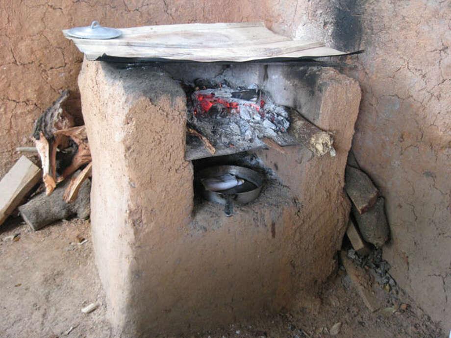 Primitive clay oven. Photo: Michelle Newman