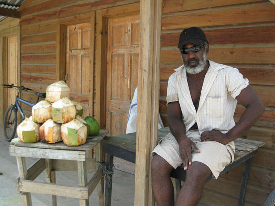 Ice cold coconuts are everywhere. Photo: Michelle Newman