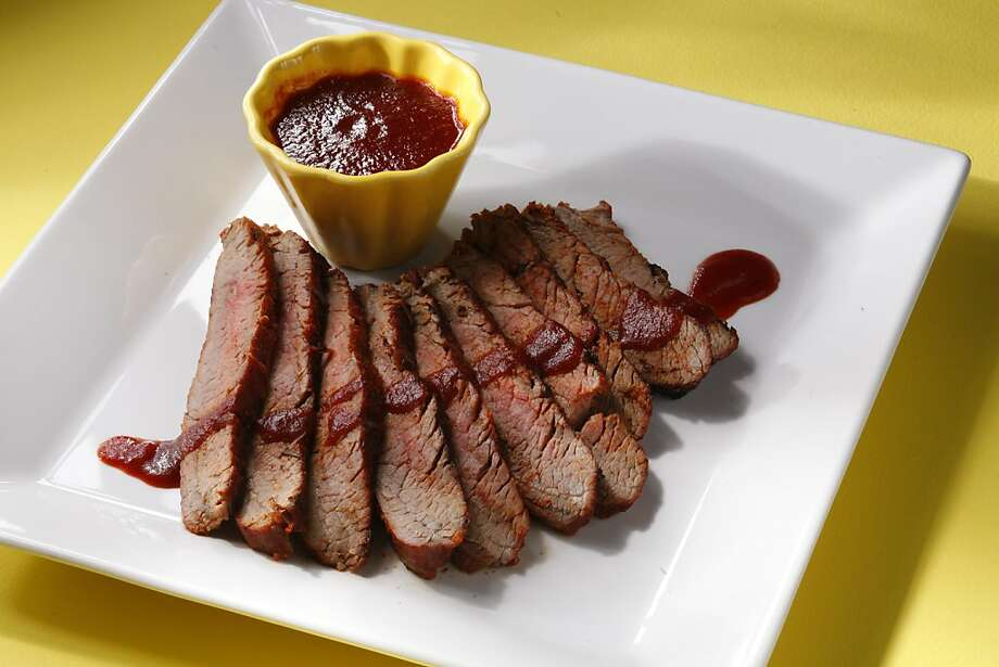 A dry rub cuts prep time while boosting flavor. Try our recipe for dry-rubbed flank steak with sweet and spicy BBQ sauce. Photo: Craig Lee, Special To The Chronicle