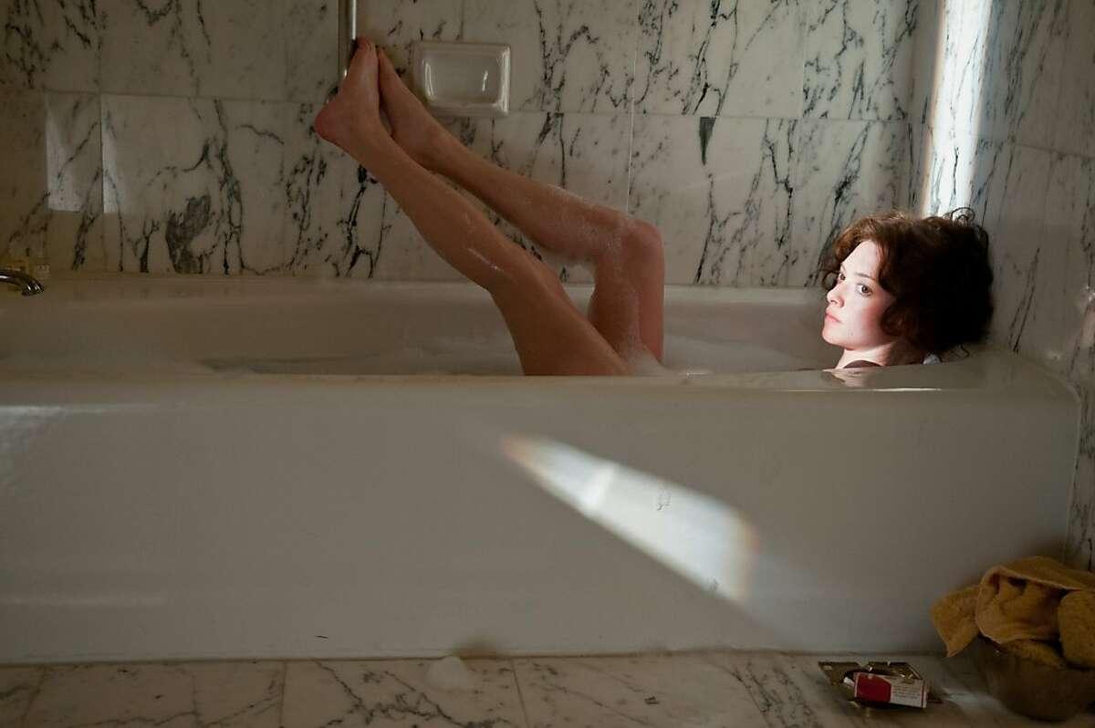 Amanda Seyfried as Linda Lovelace, in LOVELACE
