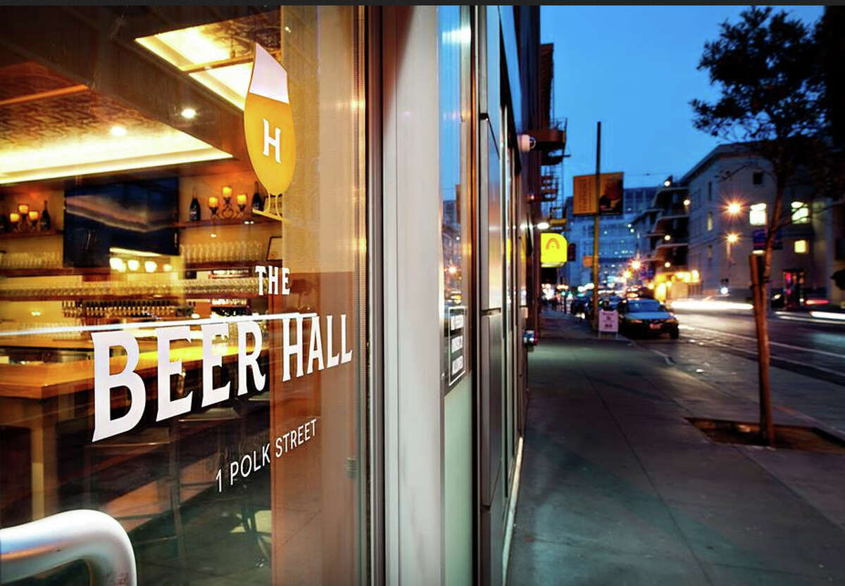 The Beer Hall, now open in Mid-Market.
