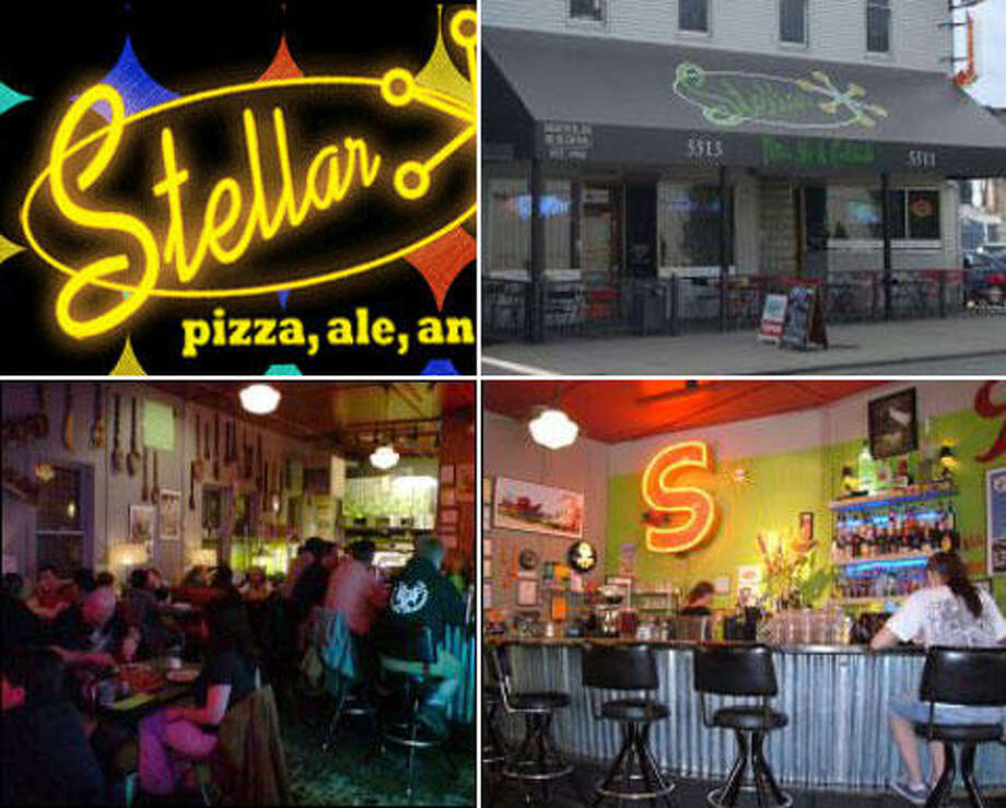 Stellar Pizza & Ale, a friendly, old-school pizzeria sure enlivened Georgetown when it opened in 2001. Photos: seattlepi.com archive, Stellar website.