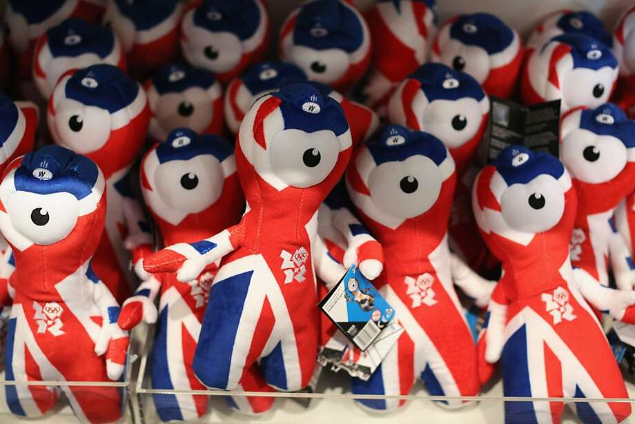 While these technically come from the Olympics, not a pro sports team, the London Olympics mascot has the unblinking eye of a thousand nightmares. Photo: Oli Scarff, Getty Images