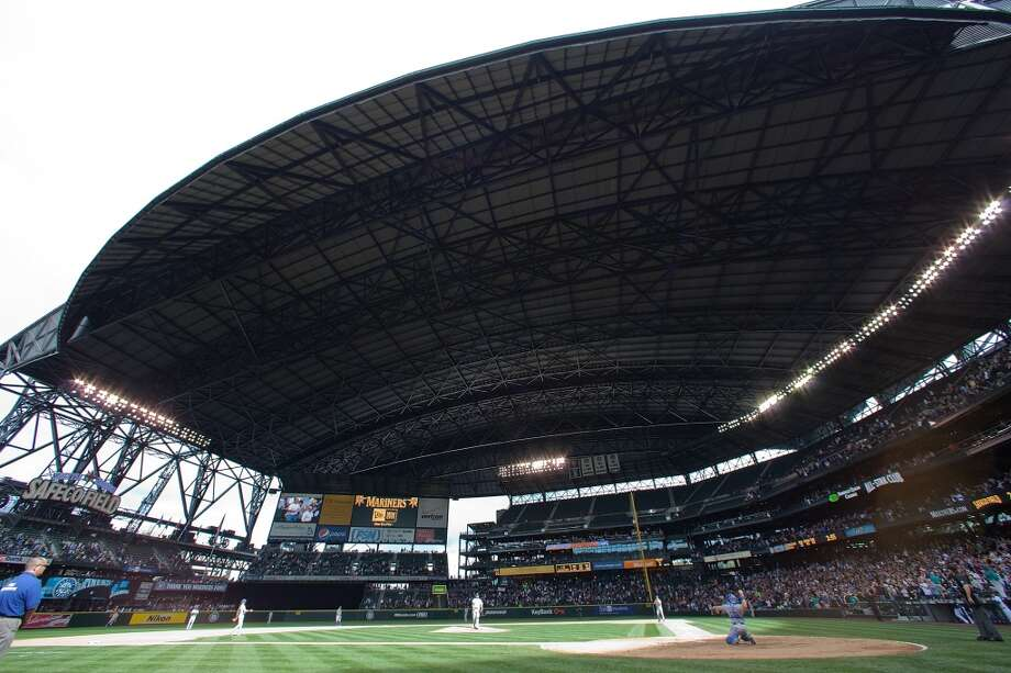 11. We built Safeco Field – with a retractable roof … and start a new Mariners season every year. Photo: Otto Greule Jr, Getty Images