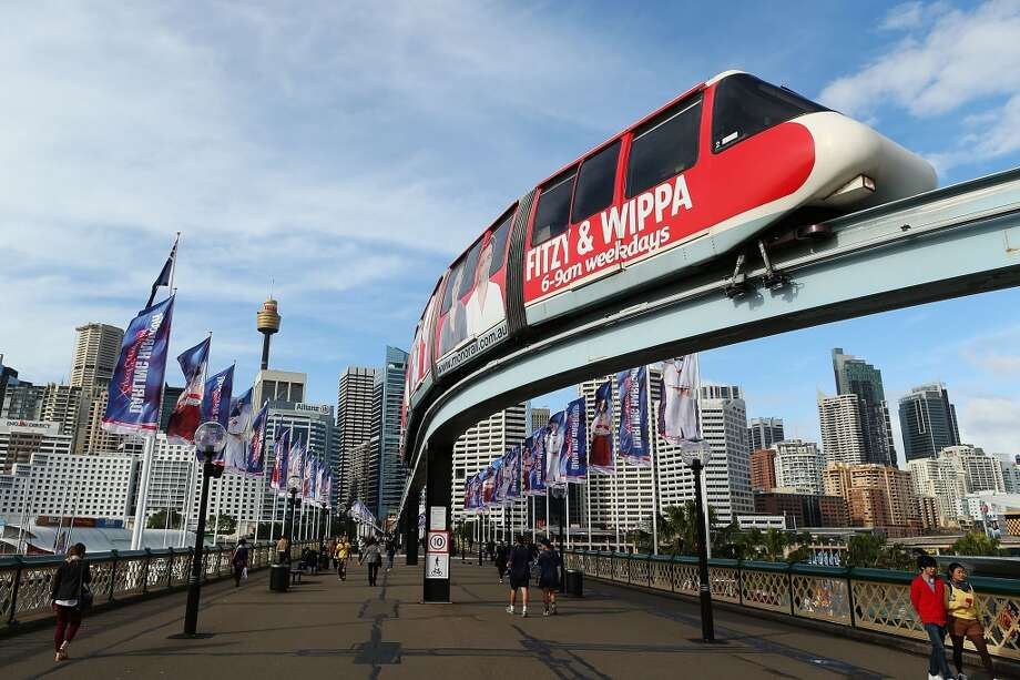 15. … voted time and again for the impractical monorail … just because it looks cool.   Photo: A Sydney monorail carriage heads towards Harbouside station on June 26, 2013 in Sydney, Australia. Photo: Brendon Thorne, Getty Images