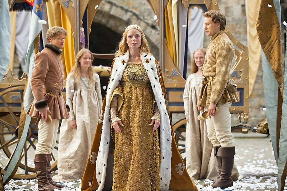 Rebecca Ferguson plays the future queen of England. Photo: Ed Miller, Starz