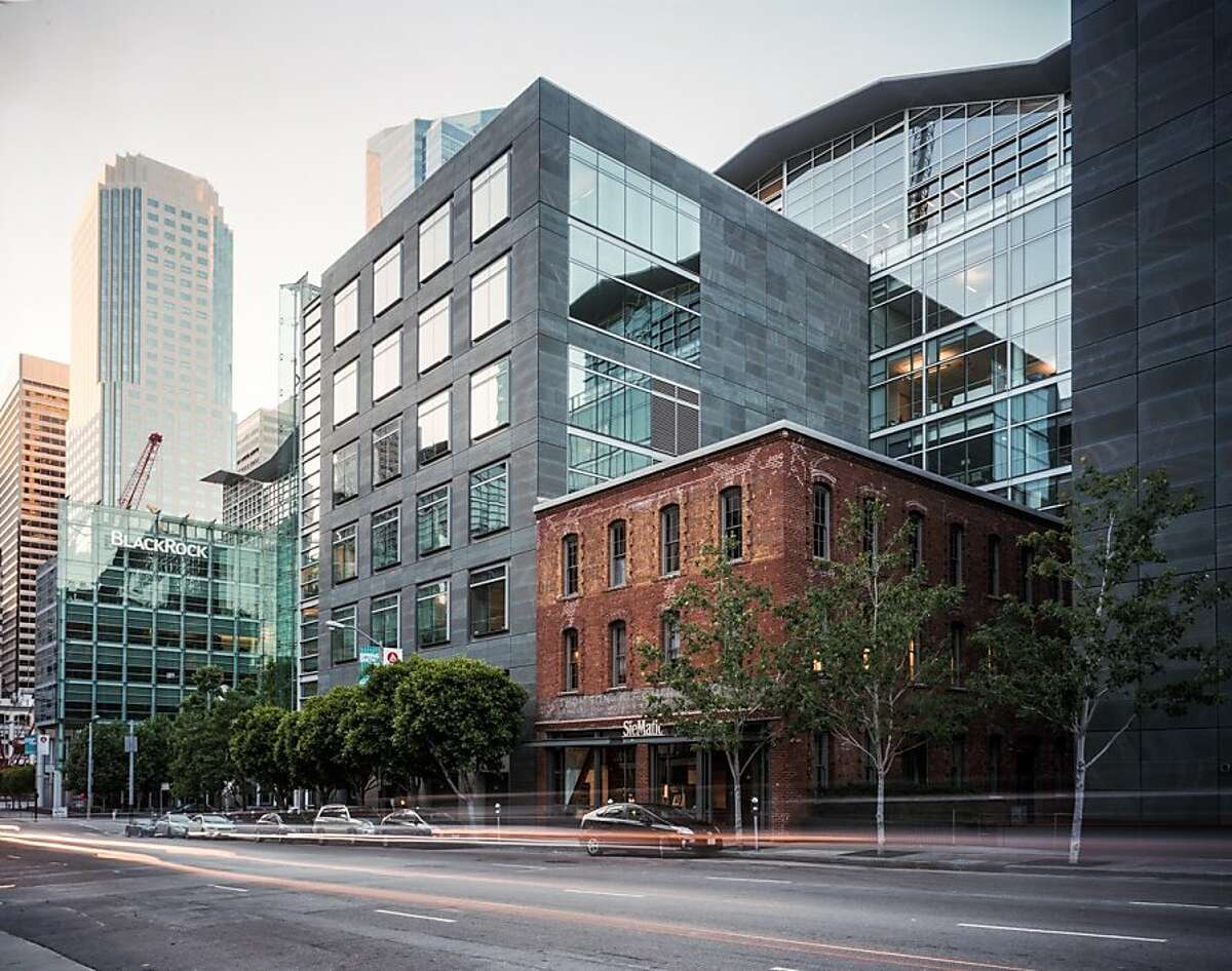 The Foundry Square project at First and Howard streets in San Francisco, which includes the restoration of a brick-and-timber building from the early 1900s, is among the subjects of a new exhibition on historic preservation at the SPUR Urban Center Gallery.