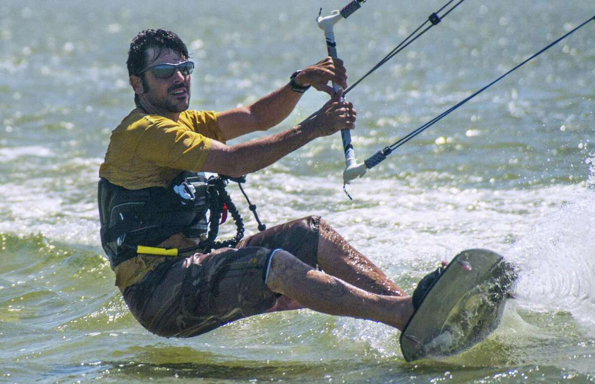 The more adventuresome vacationer will find plenty of water activities, such as kitesurfing, in Port Aransas.