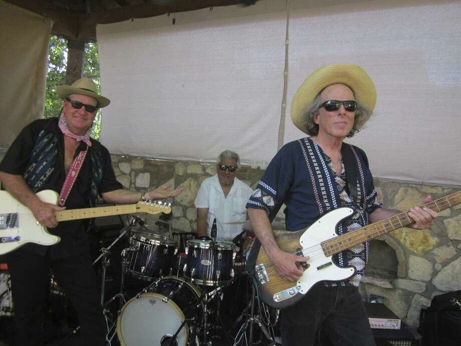 Joe King Carrasco (from left), Ernie Durawa and Speedy Sparks are the core of the legendary Tex-Mex rock band El Molino. The three have a new CD out. Photo: Courtesy Kim Galus