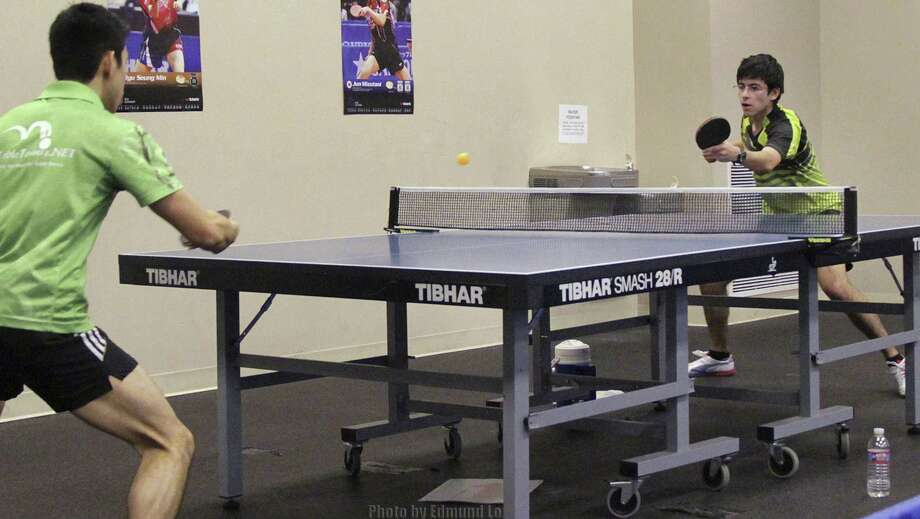 San Antonio Table Tennis Club members compete at a  2013 spring tournament. Photo: Courtesy Photo