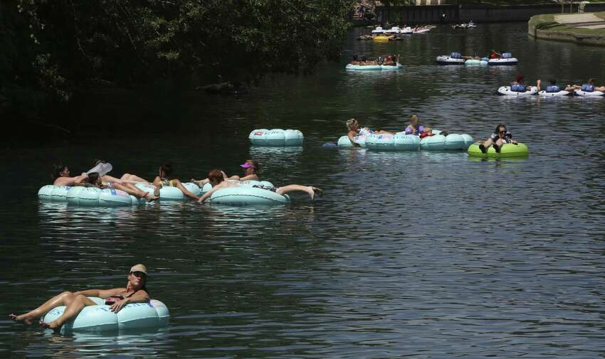Hop into a tube To get a great floating experience, try Rockin' R, a river outfitter at 193 S. Liberty Ave. in New Braunfels. Tubes can be rented with bottoms or without bottoms; coolers and cooler tubes can also be rented if you feel like making the river an extra good time.