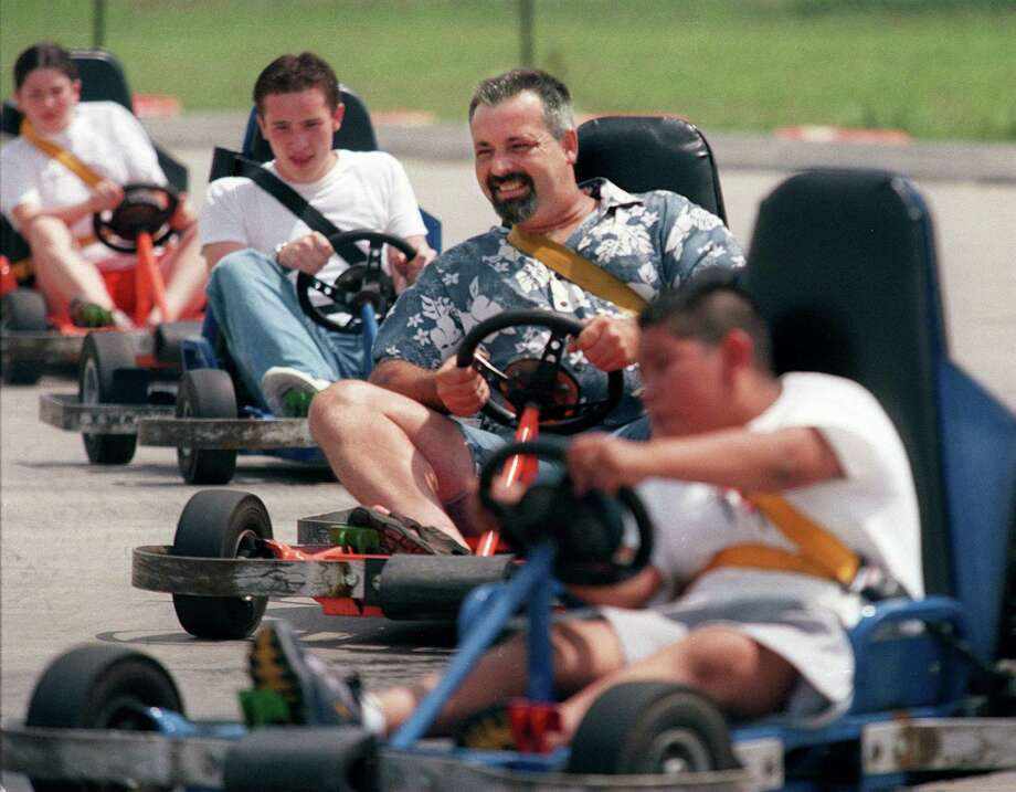 "Ride a go-kartSkittering around corners and ""accidentally"" crashing into your neighbor to ensure a win in go-kart racing is something almost anyone can enjoy, since it has been around since the 1950s. Strap Grandma in, grab your dad and see who takes home bragging rights (My bet is on Grandma.)"