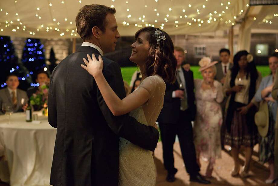 """Rafe Spall and Rose Byrne star in the comedy """"I Give It a Year,"""" directed by Dan Mazur, who co-wrote Sacha Baron Cohen's films. Photo: Magnolia Pictures"""