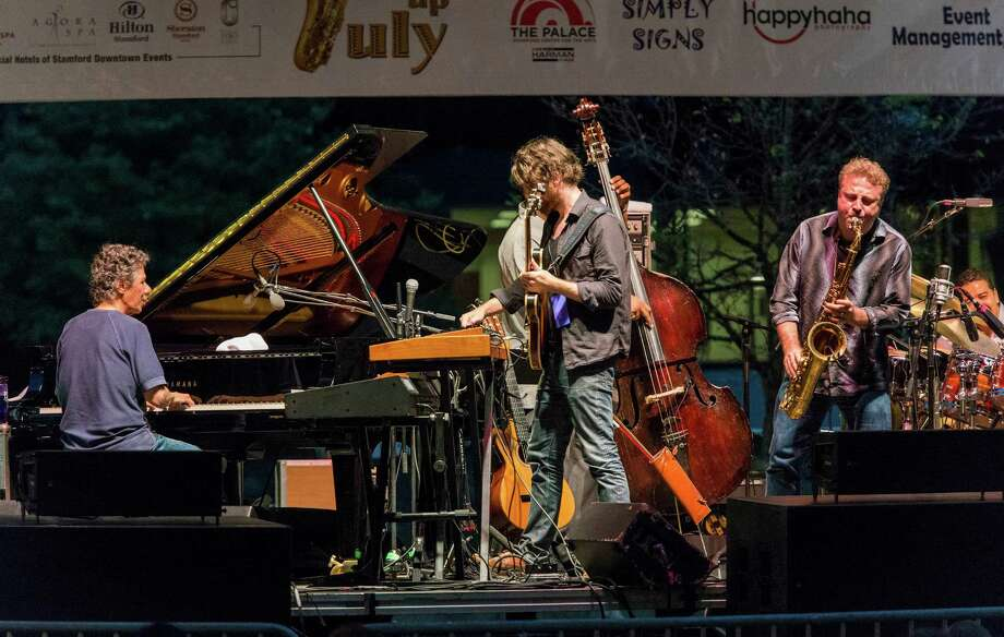 Jazz Up July brings smooth sounds to Columbus Park in Stamford every Wednesday in July. This year's headliner B.B. King. Check out the full lineup.  Photo: Mark Conrad / Stamford Advocate Freelance