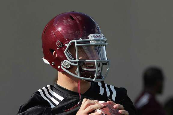 While very visible during three days of workouts at A&M, Johnny Manziel has kept a low profile off the field this week.