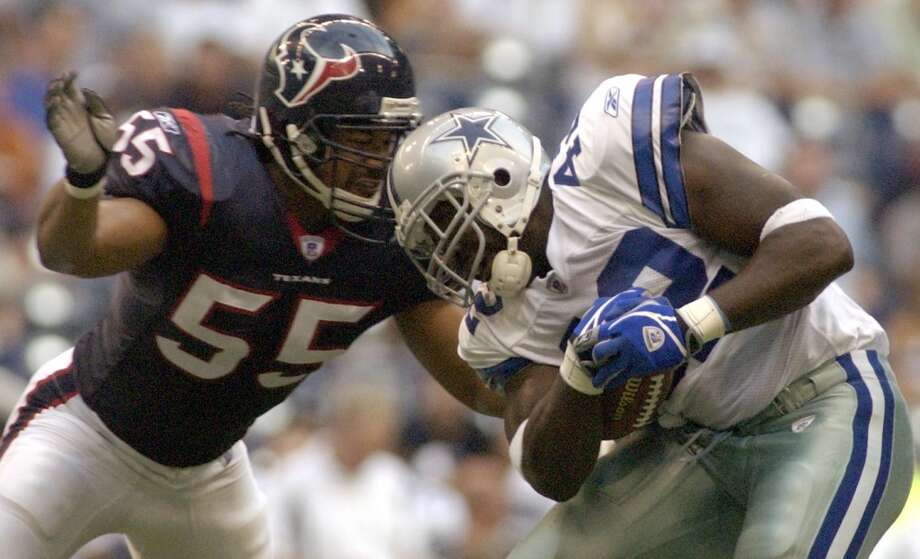 2003  Aug. 15: Cowboys 34, Texans 6  The Texans may have beaten the Cowboys for the first regular-season win in franchise history in 2002, but Dallas got revenge in the 2003 preseason by hanging 34 on Houston in Texas Stadium. Photo: Karl Stolleis, Houston Chronicle