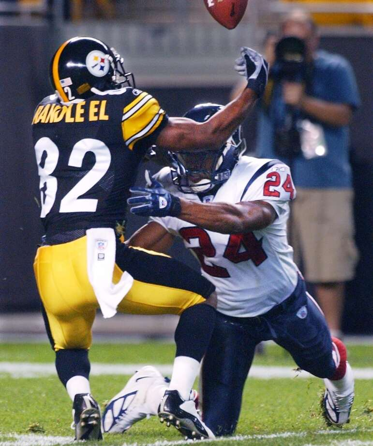 2004Aug. 21: Steelers 38, Texans 3Houston offered little effort on offense and Pittsburgh made the Texans pay for it. Photo: Keith Srakocic, Associated Press