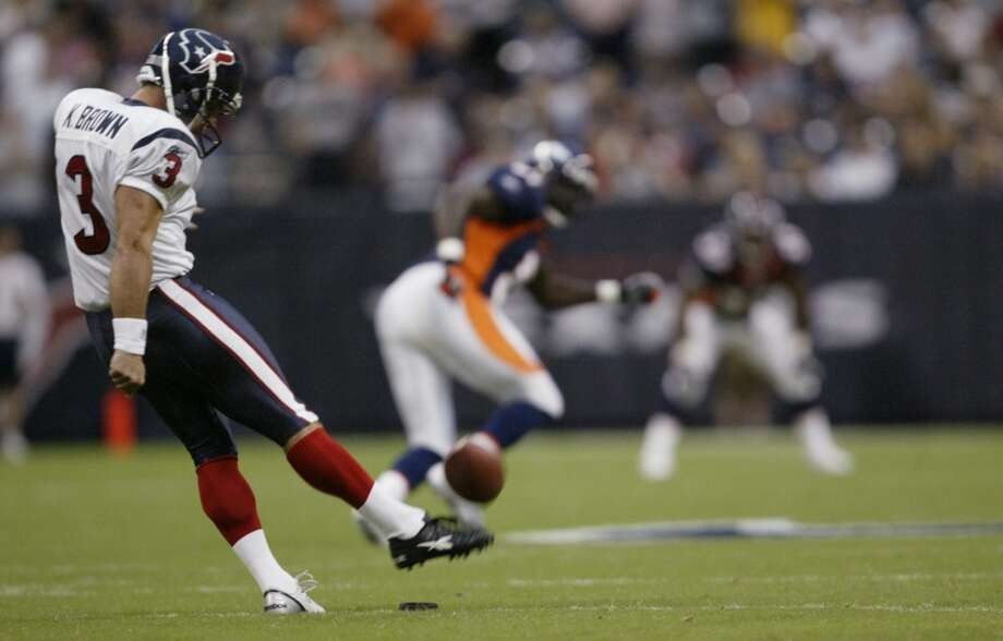 2005  Aug. 13: Broncos 20, Texans 14  Houston had a touchdown in the opening quarter but was held scoreless until the fourth quarter, long after Denver had established a solid advantage. Photo: Kevin Fujii, Houston Chronicle