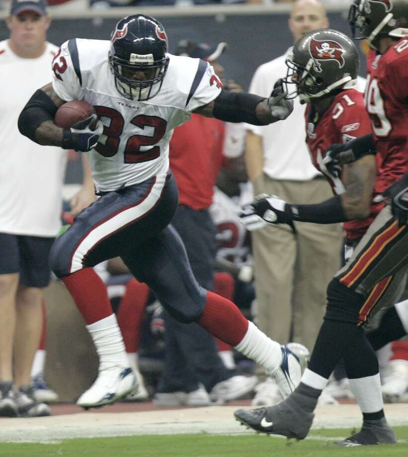 2006  Aug. 31: Texans 16, Buccaneers 13  2006 preseason record: 3-1  After a solid preseason, the Texans finished 6-10 in the regular season. Photo: Brett Coomer, Houston Chronicle