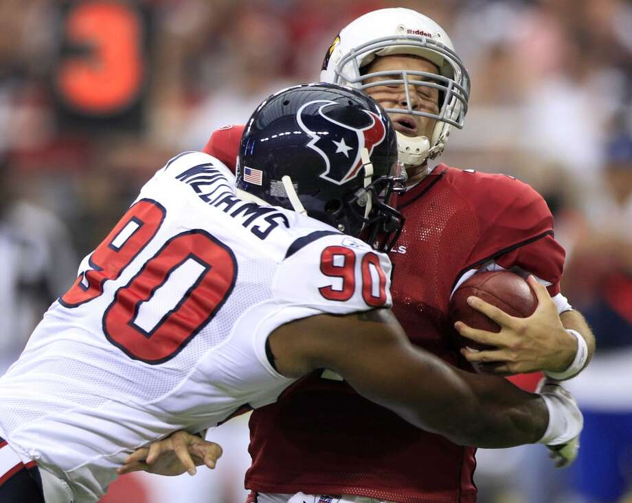 2010Aug. 14: Cardinals 19, Texans 16Houston's 16-0 advantage fell apart in the fourth quarter as Arizona staged a furious rally. Photo: Brett Coomer, Houston Chronicle
