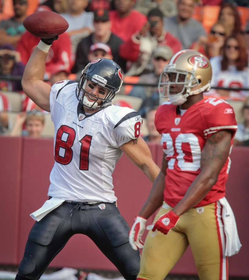 2011  Aug. 27: Texans 30, 49ers 7  San Francisco scored first but that was it for the 49ers. The Texans ran away with the game afterward. Photo: John Storey, Special To The Chronicle