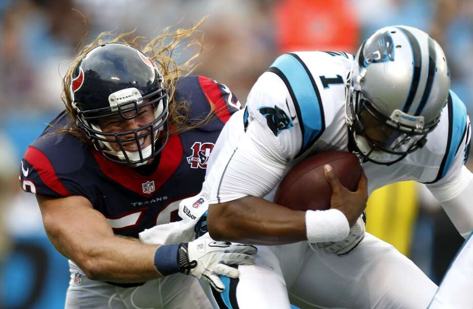 2012  Aug. 11: Texans 26, Panthers 13  Trindon Holliday had a special teams touchdown and the Panthers couldn't score after halftime. Photo: Brett Coomer, Houston Chronicle
