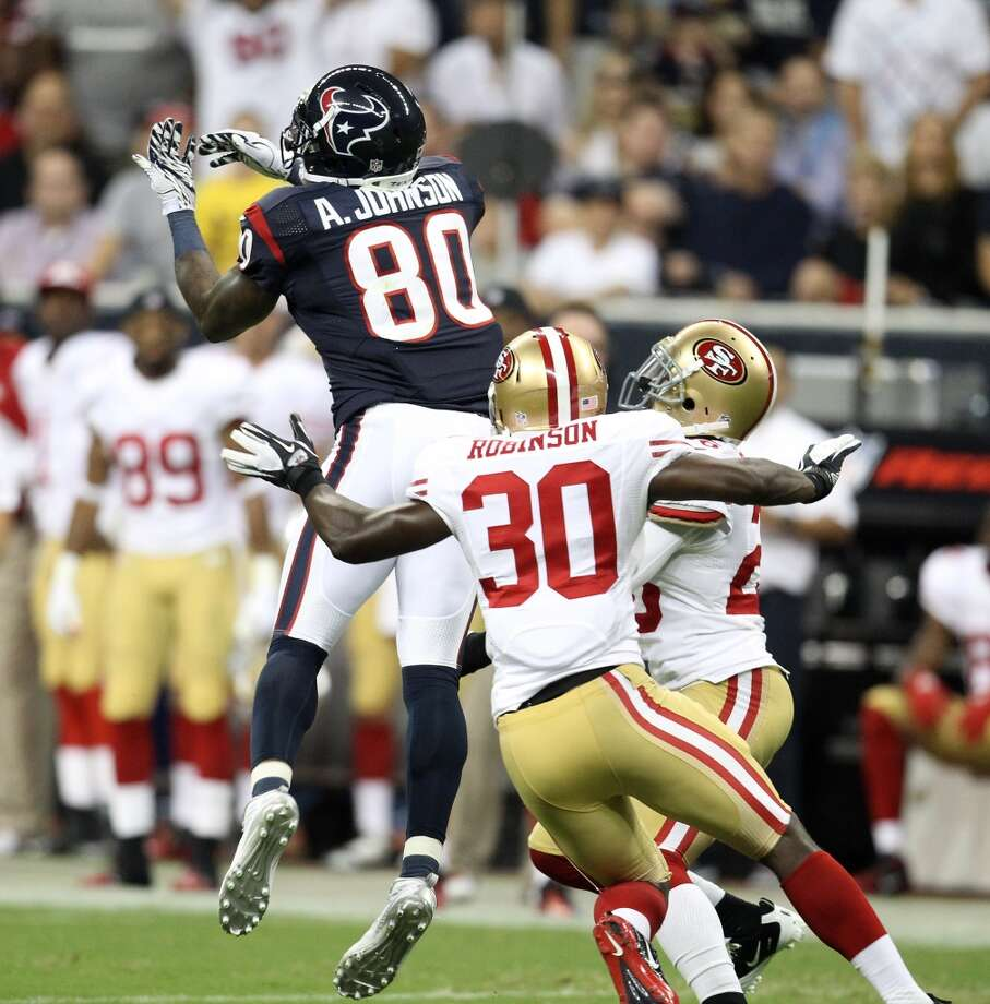 2012  Aug. 18: Texans 20, 49ers 9  The summer of Trindon Holliday continued with an 87-yard punt return for a touchdown. Photo: Karen Warren, Houston Chronicle
