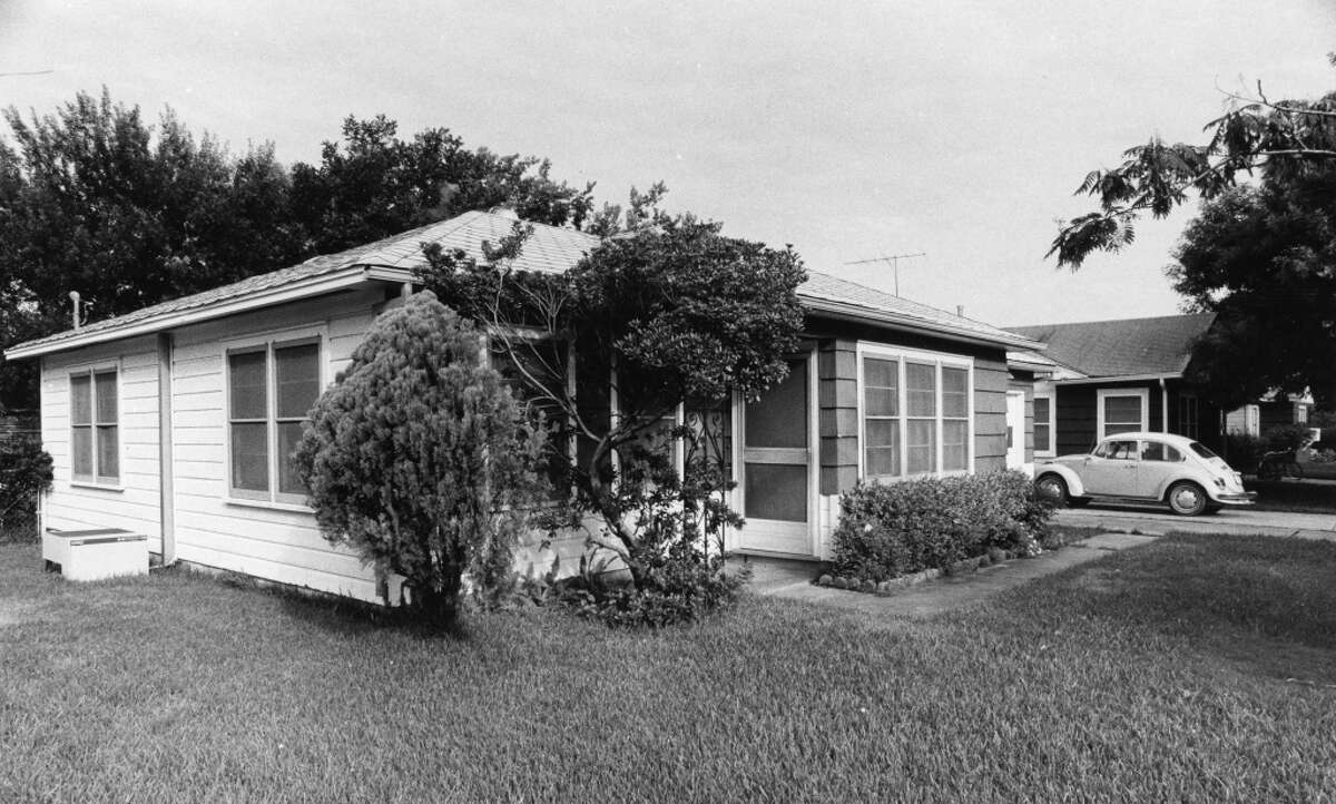 Dean Corll lived in this bungalow in Pasadena. Published August 9, 1973.