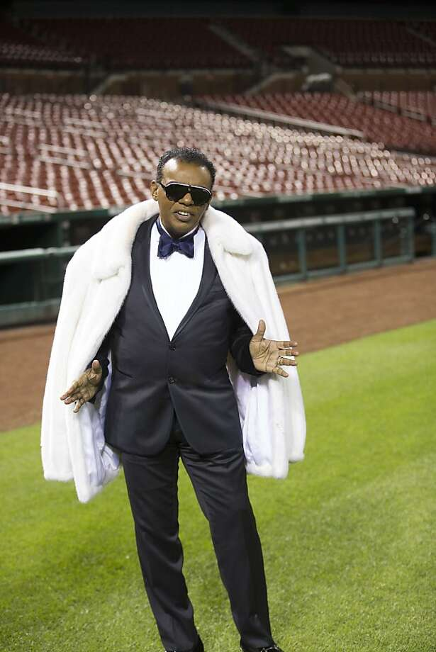 """Ronald Isley scored his first hit in 1959 with the Isley Brothers' """"Shout."""" His solo album """"This Song Is for You"""" hit No. 3 on the R&B chart this summer. Photo: Chalres Barnes"""