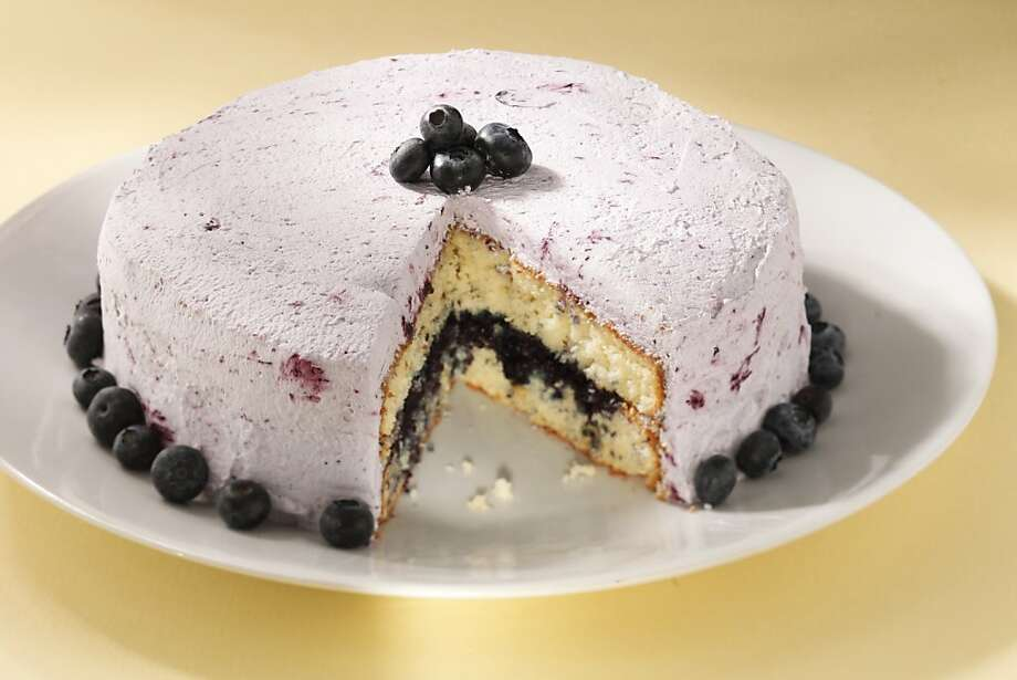 Blueberry Lemon Layer Cake:This showstopping dessert brings together height of season berries and tangy lemon.  Click here for the recipe. Photo: Craig Lee, Special To The Chronicle