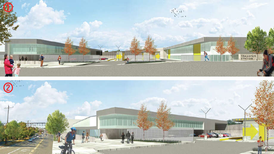 Seattle Public Utilities planned new North Transfer Station, in Wallingford, is shown in this artist's depiction. Photo: Seattle Public Utilities