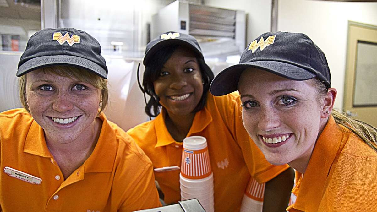 Both chains were family owned and operated until Whataburger sold to a Chicago-based company. Tom, Lynne and Hugh Dobson who owned Whataburger make up one of the richest families in Texas. Score: In-N-Out 2, Whataburger 1