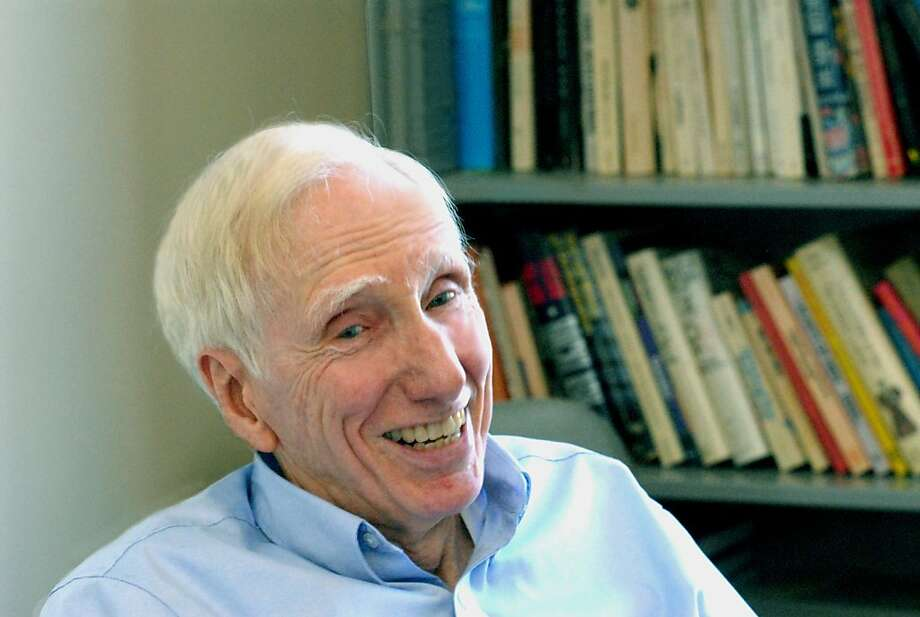 "UC Berkeley Professor Emeritus Robert N. Bellah, who died July 30, was best known for the 1985 best-selling book ""Habits of the Heart."" Photo: Megan Messerly, UC Berkeley"