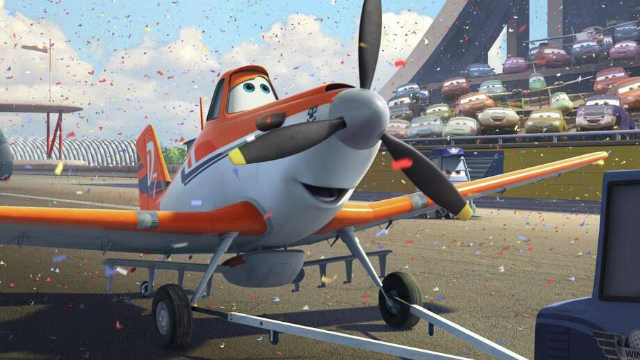 "This publicity image released by  Disney Enterprises, Inc. shows Dusty, voiced by Dane Cook, in a scene from the animated film, ""Planes."" (AP Photo/ Disney Enterprises, Inc.) ORG XMIT: NYET834 / Disney Enterprises, Inc."