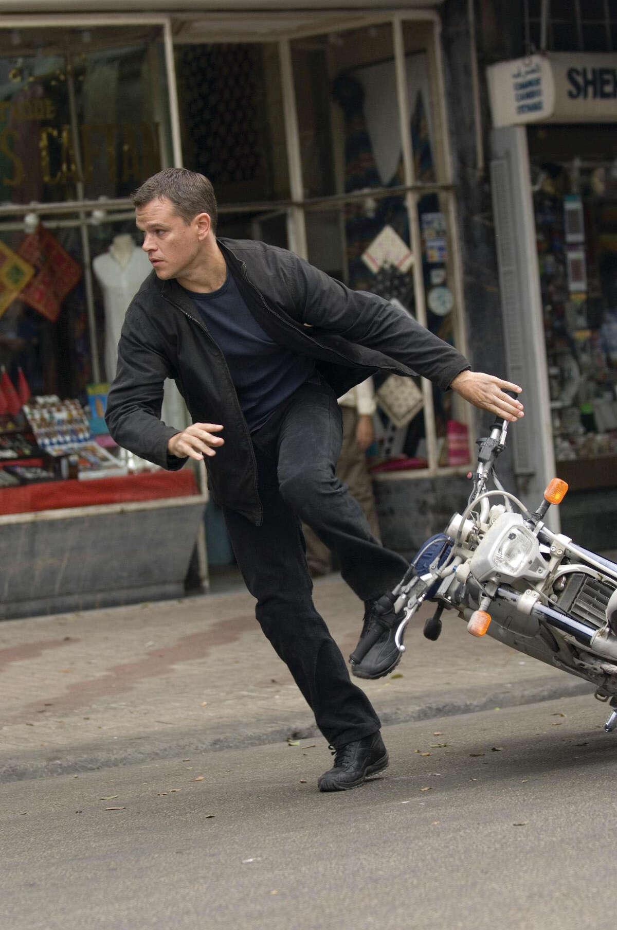 Action Adventure: 1365Pictured: Matt Damon in