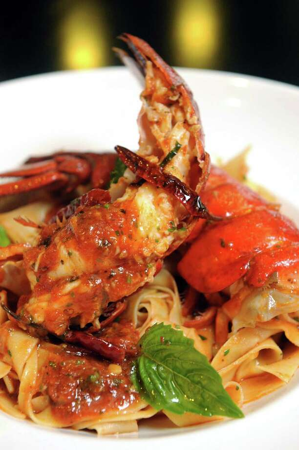 Lobster fra diavolo at Johnny's restaurant Thursday, Aug. 1, 2013, in Schenectady, N.Y. (Michael P. Farrell/Times Union) Photo: Michael P. Farrell / 10023363A