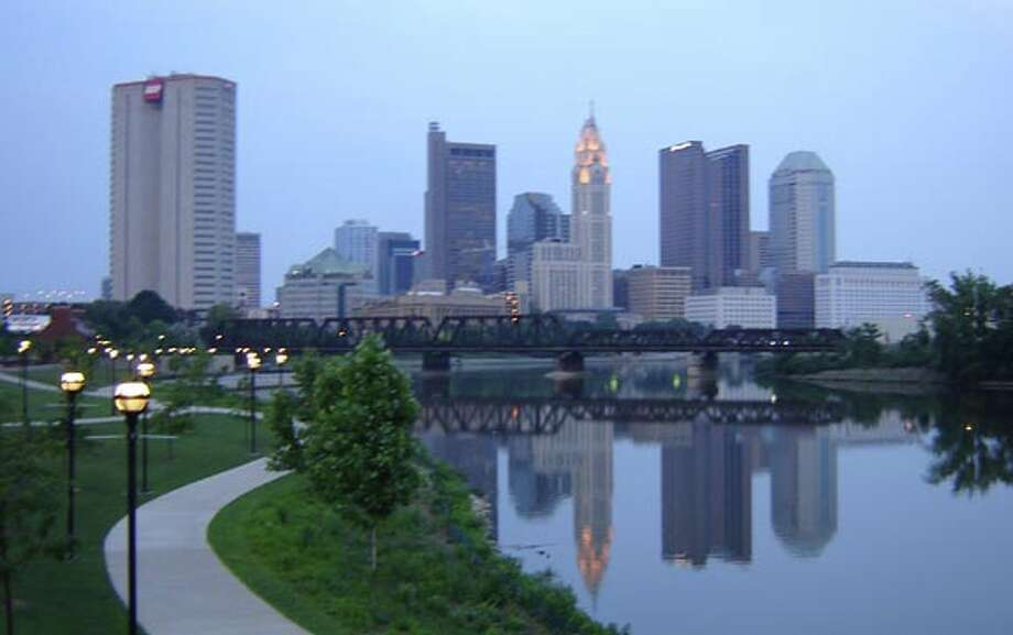 Forbes tallied this year's numbers so we can see how American cities compare in terms of their suitability for businesses and careers. Here's who topped the list - maybe you'll get a tip-off for your next move (although Texas cities are major contenders!)     #20: Columbus, OhioMetro population: 1,880,100 Gross metro product: $95 billionProjected annual GMP growth: 2.8 percent Photo: Wikimedia Commons