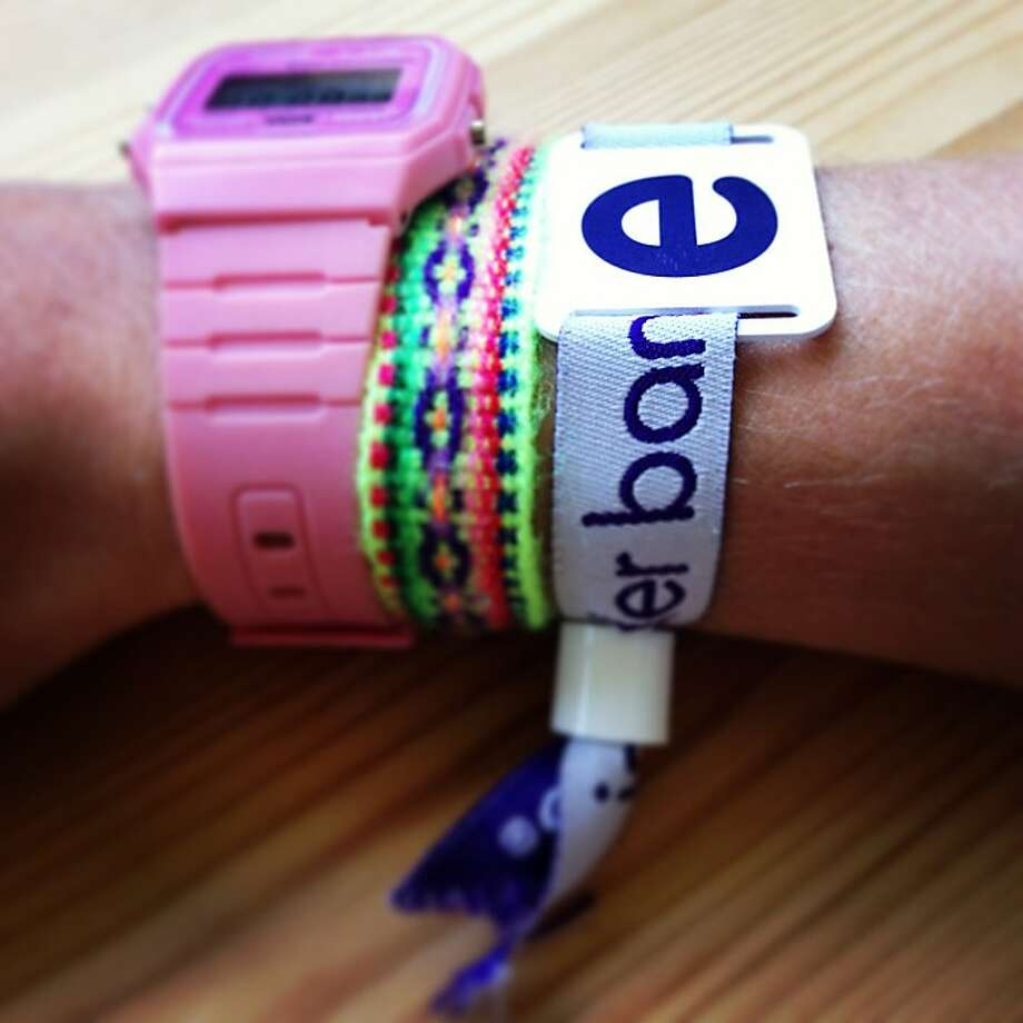High-tech wristbands will be handed out by ClearHart Digital at Outside Lands 2013. Photo: ClearHart Digital