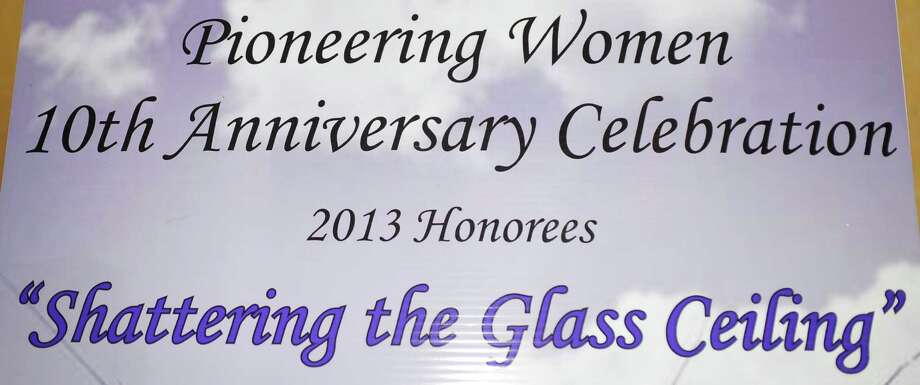 "Our cameras were at the Pioneering Women is ""Shattering the Glass Ceiling"" in 2013 Luncheon Thursday afternoon. Did we see you there?Dave Ryan/The Enterprise"