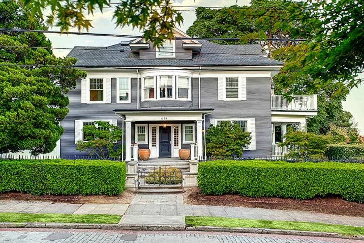 Front of 1230 Warren Ave. N. It's listed for $3,999,950.