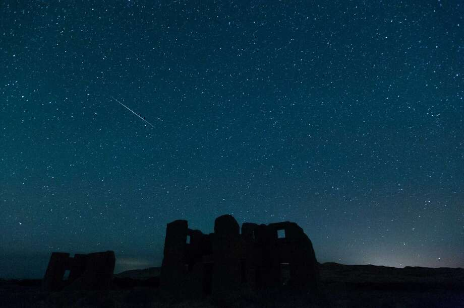 What if I can't be awake just before dawn? Should I bother looking up?You might be able to see a few meteors, starting after midnight Monday. It'll help if you're away from city lights. Things will pick up two to three hours before sunrise. (Photo: Perseids, Nevada, 2012). Photo: Kevin Clifford, AP