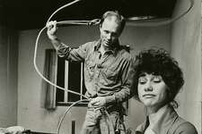 "shepard25_buried  Ed Harris and Kathy Baker in Sam Shepard's ""Fool for Love"" at the Magic Theatre in 1983  1983"