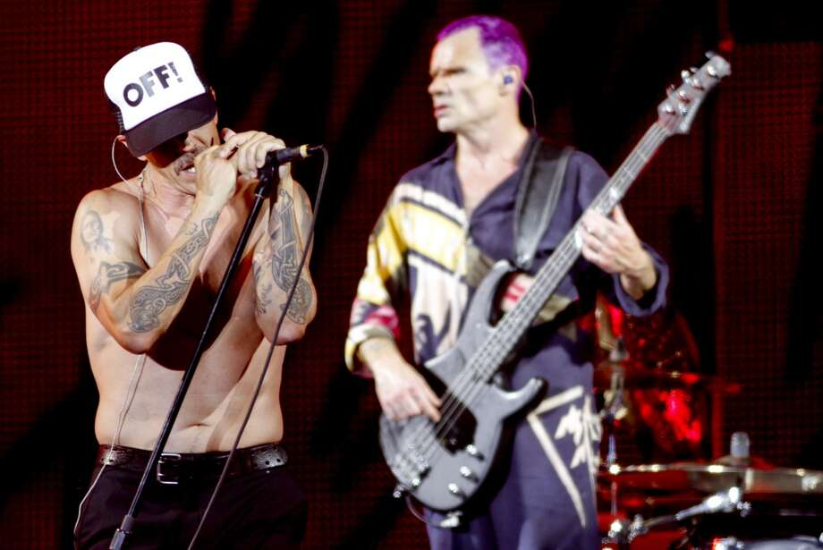 The Red Hot Chili Peppers can be seen on Ustream from this year's Outside Lands Music Festival in SF. The band is seen here performing at the Austin City Limits Music Festival on  Oct. 14, 2012. Photo: Jack Plunkett, Associated Press