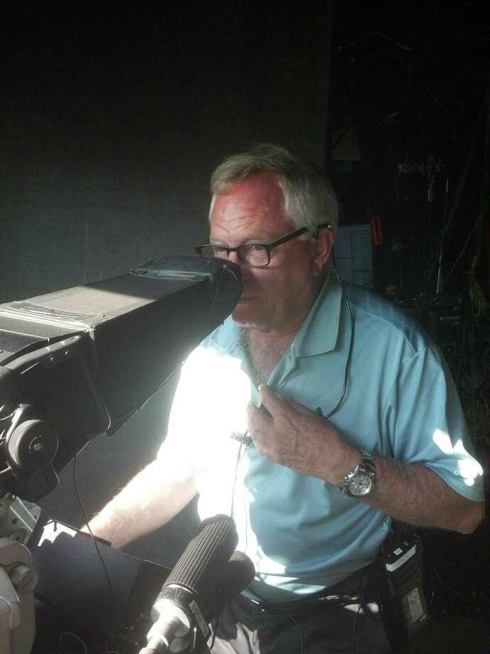 Davey Finch, longtime CBS cameraman. (Pete Dougherty / Times Union)