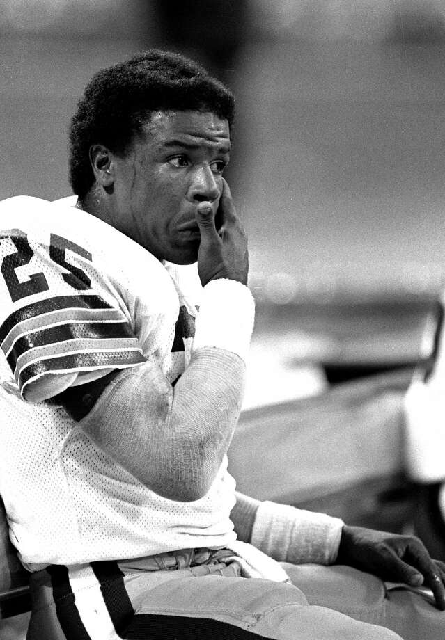 USC's Charles White, 1979 winner: White admitted in a 1997 interview with Sports Illustrated that he was battling a cocaine addiction while playing for the Cleveland Browns in the early 1980s, and suspended from the Los Angeles Rams in 1988 for violating the NFL's substance-abuse policy. He retired at the end of that season. Photo: Paul Tepley / Diamond Images, Getty Images / 1982 Diamond Images