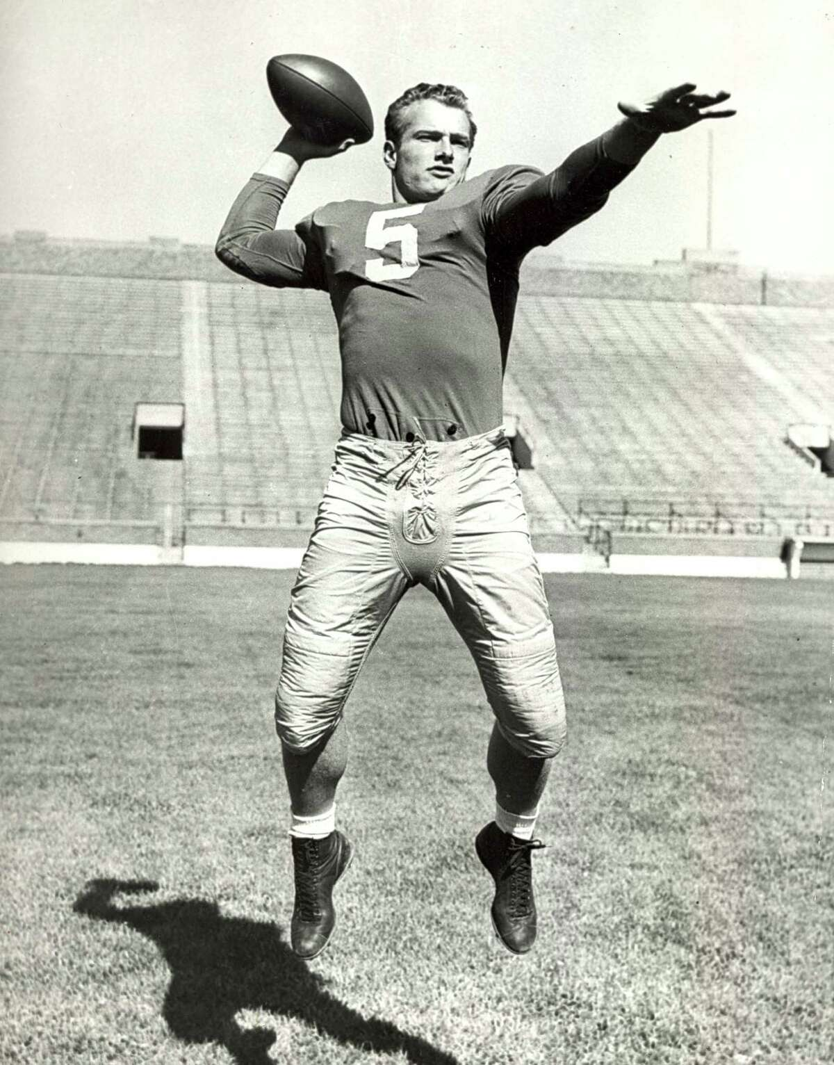 Notre Dame's Paul Hornung, 1956 winner: Hornung, running back for Green Bay, was fined and suspended from the NFL indefinitely in 1963 for betting on games. According to ESPN Classic, he admitted to gambling, but said he never bet against the Packers. His suspension was lifted before the 1964 season.