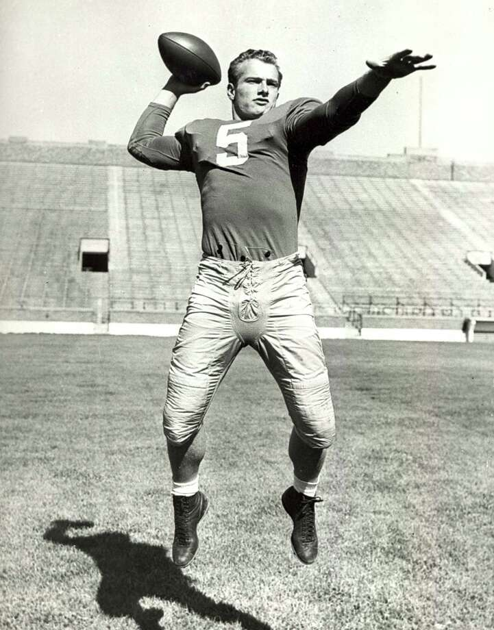 Notre Dame's Paul Hornung, 1956 winner: Hornung, running back for Green Bay, was fined and suspended from the NFL indefinitely in 1963 for betting on games. According to ESPN Classic, he admitted to gambling, but said he never bet against the Packers. His suspension was lifted before the 1964 season. Photo: Collegiate Images, Getty Images / 1955 Collegiate Images