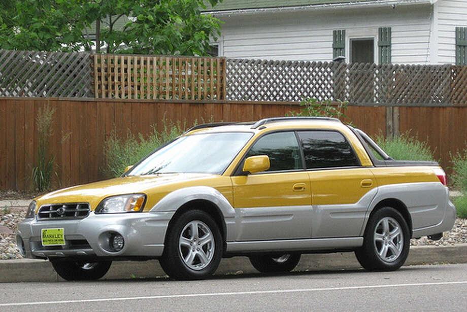 6. Subaru BajaReason:Funny lookingPhoto:gvgoebel, flickrSource:CarInsurance.com